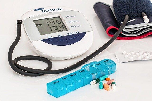 hypertension - high blood pressure kit and meds